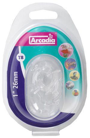 Arcadia clips for reflektor T8