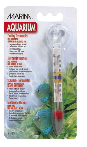 Flytende termometer m/sugekopp