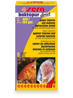 Sera Baktopur Direct 24 tabletter