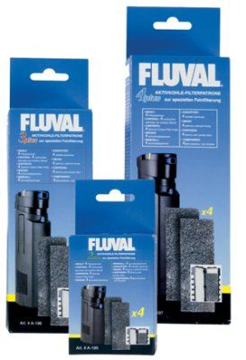 Filterpatron Fluval 2+ - Aktivt kull