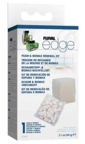 Fluval Edge - Svamp og Bio-max