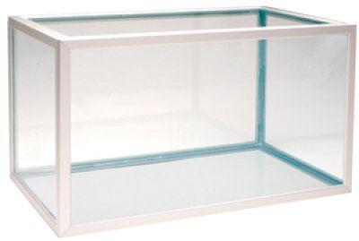 Aluminiums akvarie 45L - Alu