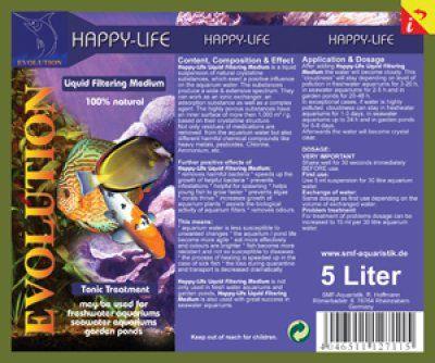 Happy-Life Filtermedium 5L