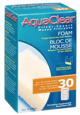 Aquaclear 30 Hang-On Filtermatte