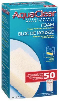 Aquaclear 50 Hang-On Filtermatte