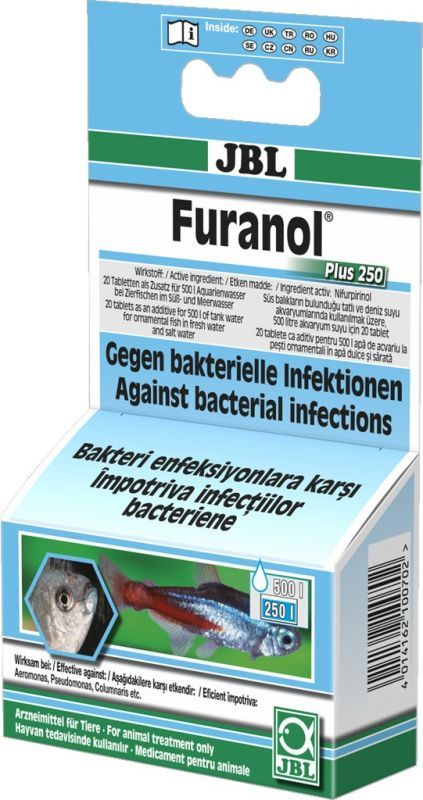 JBL Furanol 20 tabletter