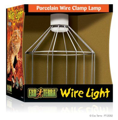 Exo Terra Wire Light - Large