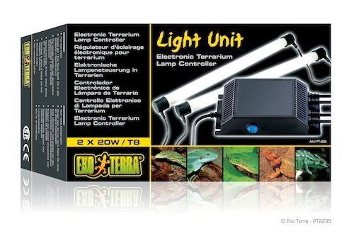 Exo Terra Light Unit 2x18w
