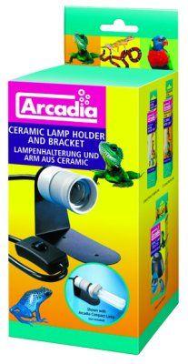 Arcadia Keramisk lampeholder med feste