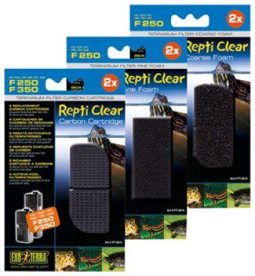 Fin Filtermatte til Repti Clear F250