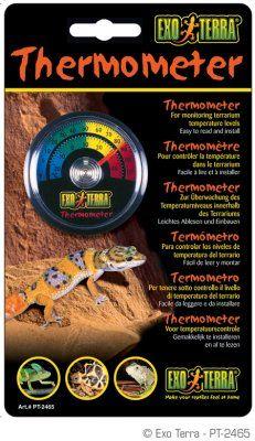 Exo Terra termometer rund