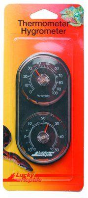 Lucky Reptile termometer og hygrometer
