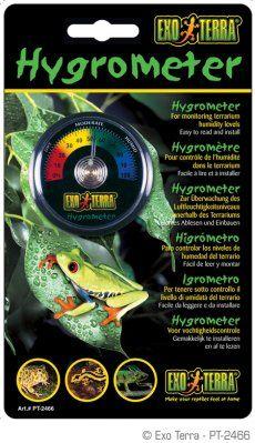Exo Terra Hygrometer rund