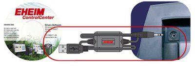 Eheim USB interface og controlcenter