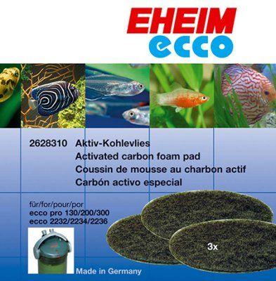 Kull filtermateriale til Ecco - 3stk