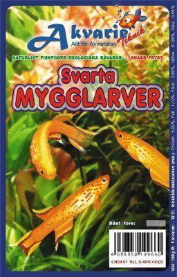 Svarte Mygglarver 100g