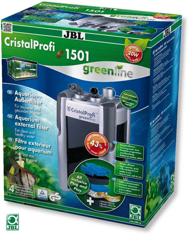 Brukt - JBL CristalProfi e1501 Greenline