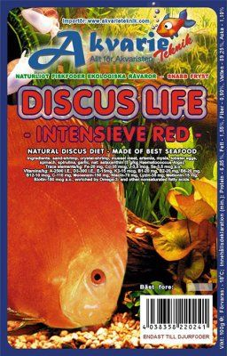 Discus Life Intensiv Rød 100g