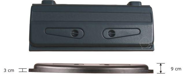 Wromak Classic 100x40cm - Svart