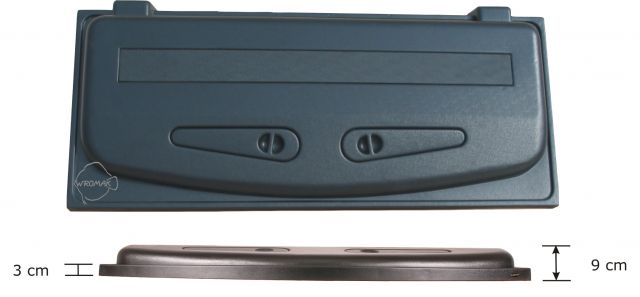 Wromak Classic 120x50cm - Svart