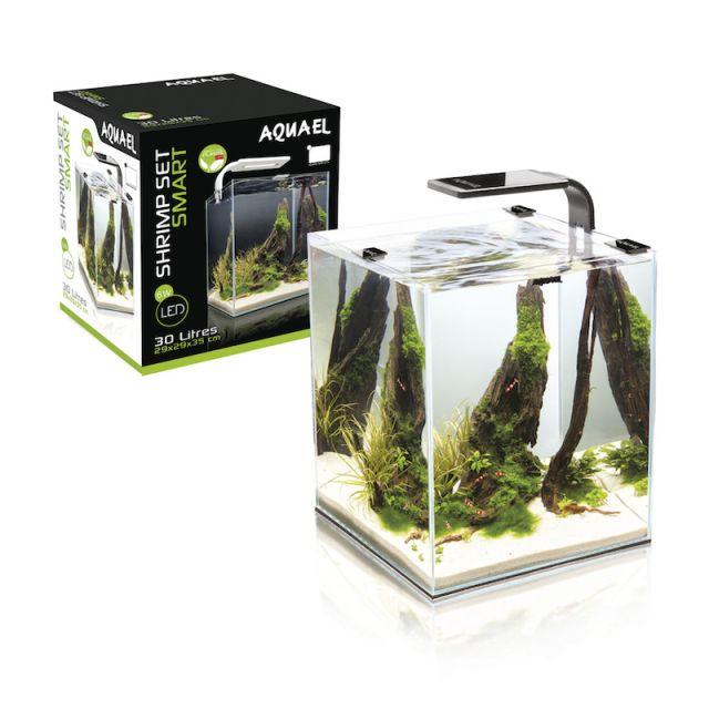 AquaEl Shrimpset Smart 2 Day & Night - 10L - Svart