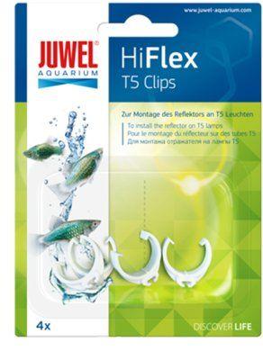 Juwel HiFlex clips 4stk - T5