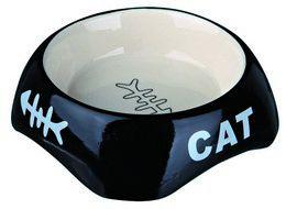 Katteskål i Keramikk 0,2L
