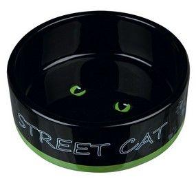 Katteskål Keramik Street Cat 0,3L