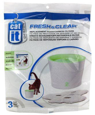 Catit Fresh and Clear 3L - Kullfilter