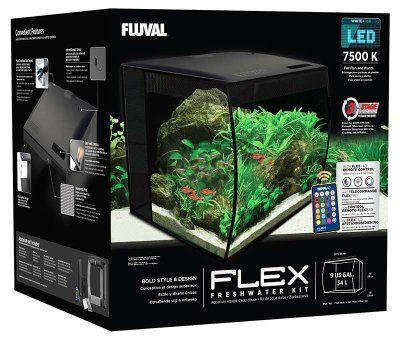 Fluval Flex 34L Led - Svart