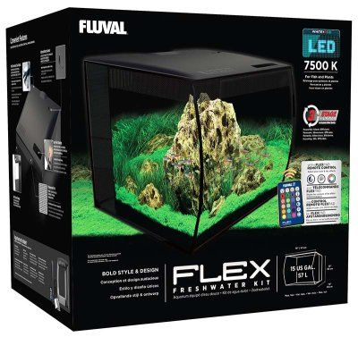 Fluval Flex 57L Led - Svart