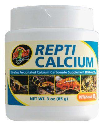 Zoo Med Repti Calcium 85g uten D3