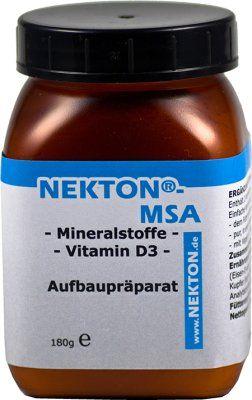 Nekton MSA Mineral tilskudd 180g