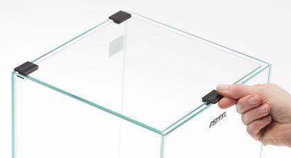 Aquael Dekkglass til 30L Svart