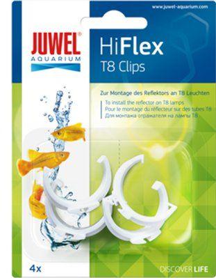 Juwel HiFlex clips 4stk - T8