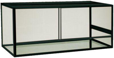 Terrarium 540L - Svart