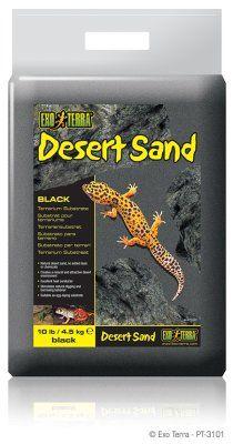 Exo Terra Desert Sand - Svart
