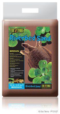 Exo Terra Riverbed sand - Brun