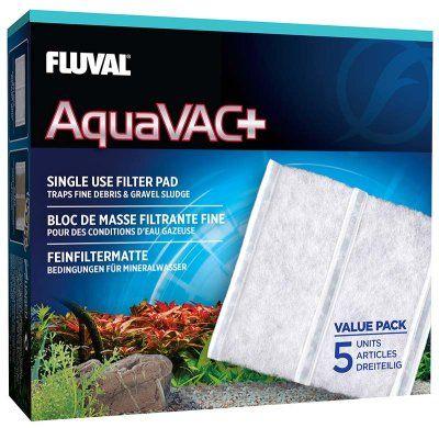 Fluval Aquavac+ finfilter 5stk