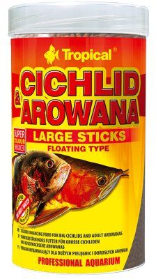 Tropical Cichlid & Arowana Sticks 250ml - L