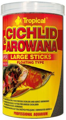 Tropical Cichlid & Arowana Sticks 1L - L