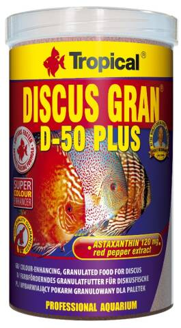 Tropical Discus Gran D-50 Plus 1L