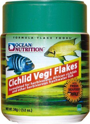 ON Cichlid Vegi Flakes 34g