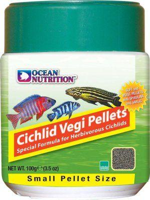 ON Cichlid Vegi Pellets 100g - S