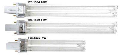 11w UV-C rør til Boyu Biofilter