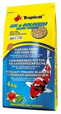 Tropical Koi & Goldfish Basic - 4kg