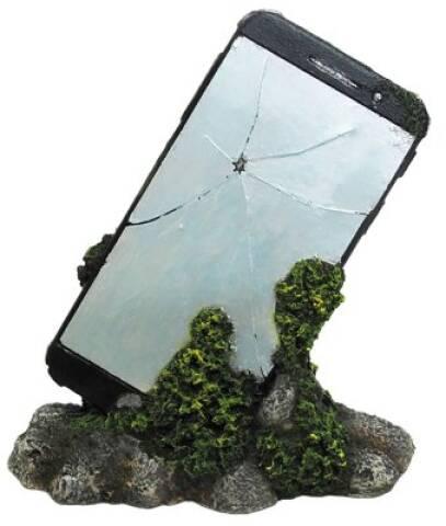 Defekt mobiltelefon 15,5X8X16,2cm