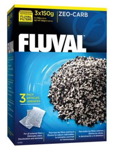 Fluval Zeo-carb 3x150g