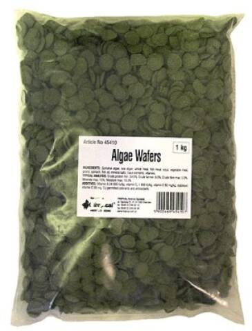 Tropical Green Algae Wafers 1kg - Pose