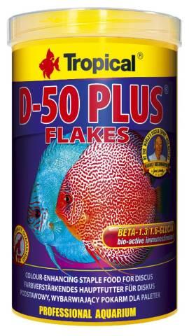 Tropical Discus D-50 Plus Flakes 1L